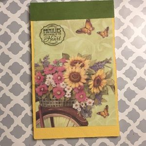 Covered notepad refillable